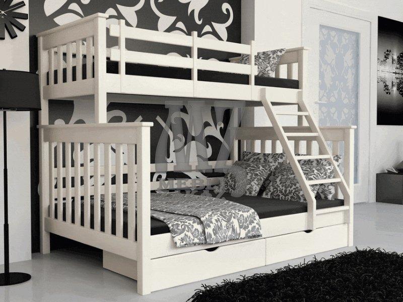 Скидки, акции, распродажи, кровати, двухъярусные кровати, кровати из натурального дерева