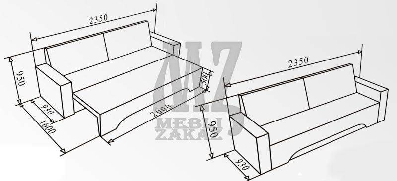 Как сделать диван своими руками чертежи