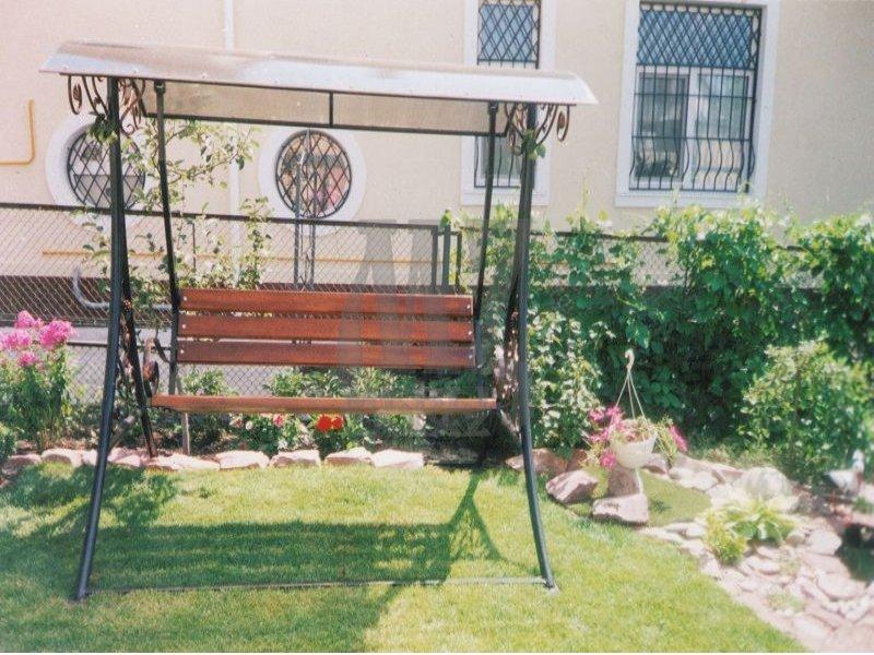Качели садовые на подшипниках
