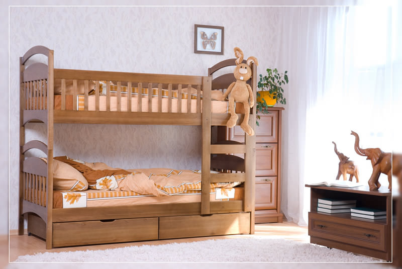 Мебель для детской из натурального дерева алматы