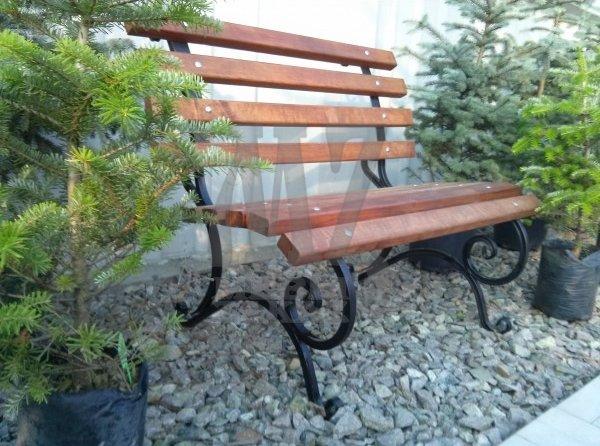 Скамейка садовая без подлокотников (100 cм.)