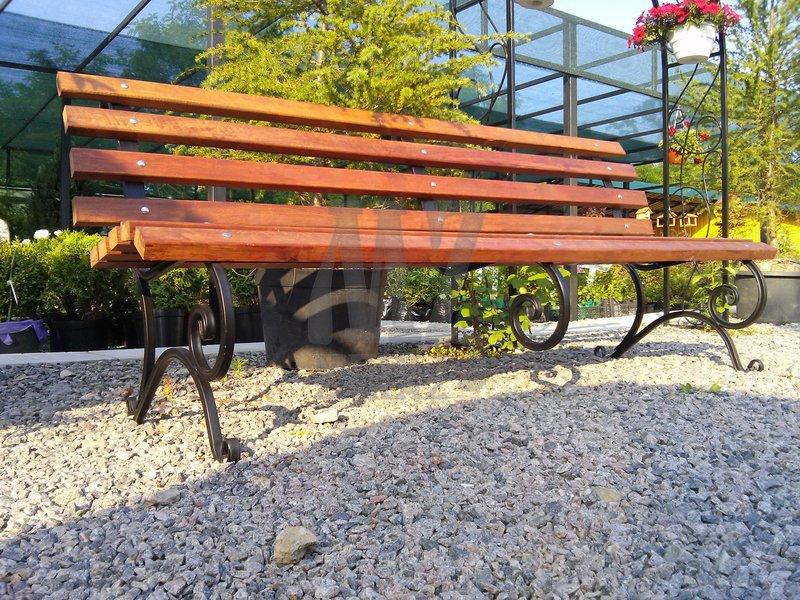 Скамейка садовая (220 cм.)