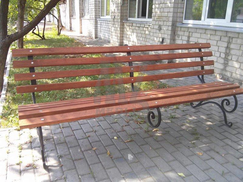 Скамейка садовая (250 cм.)