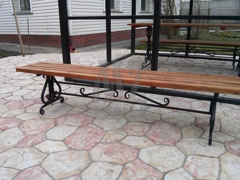 Лавочка садовая Лира (200 см.)