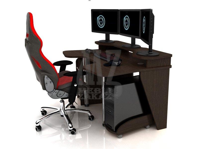 Геймерский игровой стол zeus igrok-4 (3k-zeus mebel) - компь.