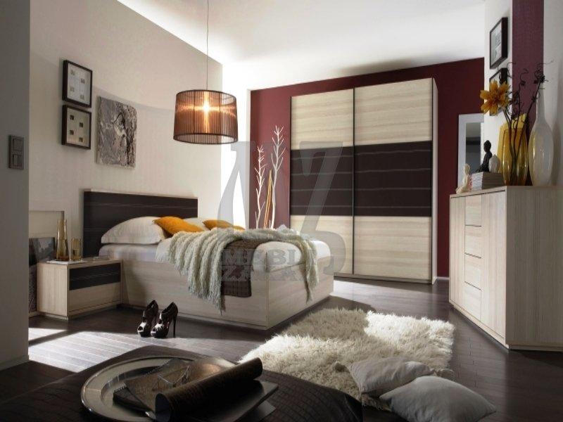 Шкаф и кровать из экокожи