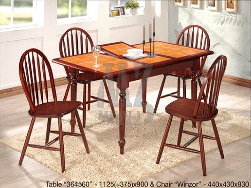Onder Metal Комплект Стол  364560 + стулья Winzor (Винзор)