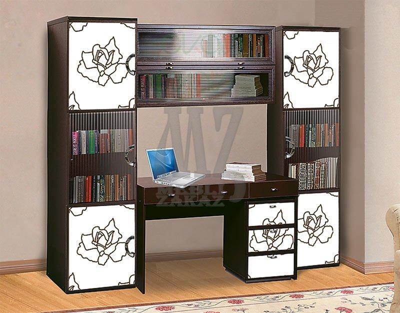 Модульная система ego-1 (скай) - кровати односпальные, шкафы.